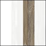 C615 - Biały Mat + Biały Połysk + Sosna Picea